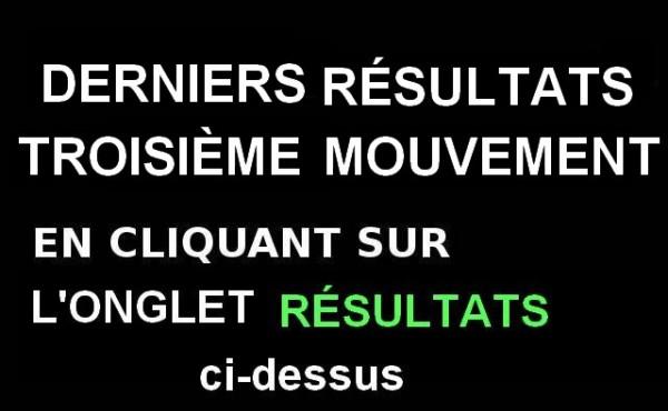 3ème mouvement résultats de juillet 2019