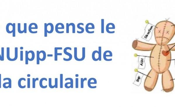 Que pense le SNUipp-FSU de cette circulaire 2020 ?