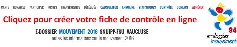 SNUipp FSU Section de Vaucluse