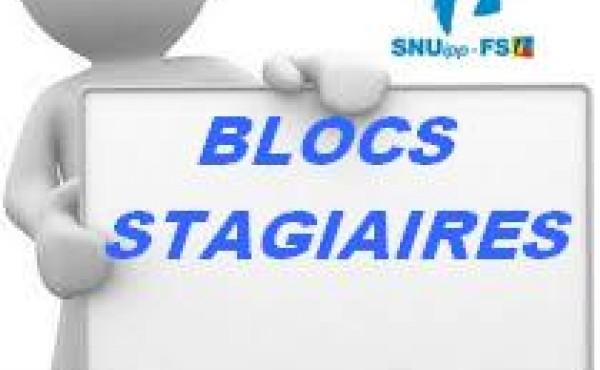BLOCS STAGIAIRES