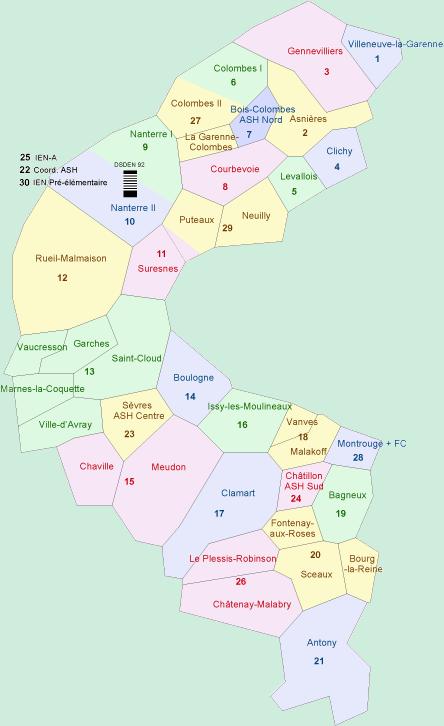 circonscriptions